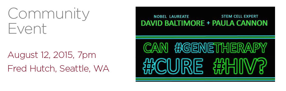 CGT4HIVCure 2015 - Community Event slider